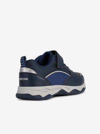 Tmavě modré klučičí tenisky Geox Calco boy