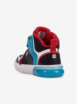 Modro-černé klučičí boty Geox Grayjay
