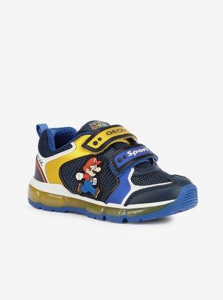 Geox - modrá, žltá