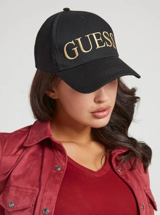 Černá dámská kšltovka Guess