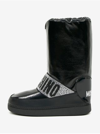 Zimná obuv pre ženy Love Moschino - čierna