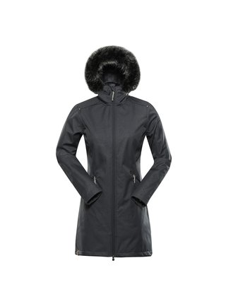 Dámský softshellový kabát ALPINE PRO PRISCILLA 5 INS. šedá
