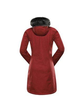 Dámský softshellový kabát ALPINE PRO PRISCILLA 5 INS. červená