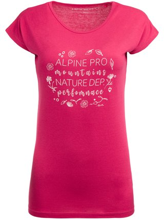 Dámské triko ALPINE PRO KANGA růžová
