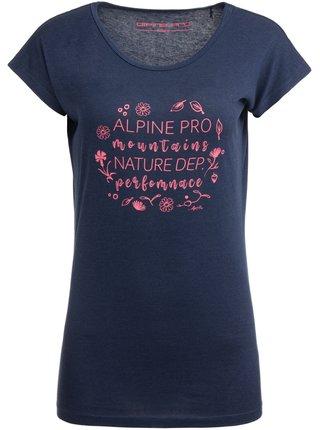 Dámské triko ALPINE PRO KANGA modrá