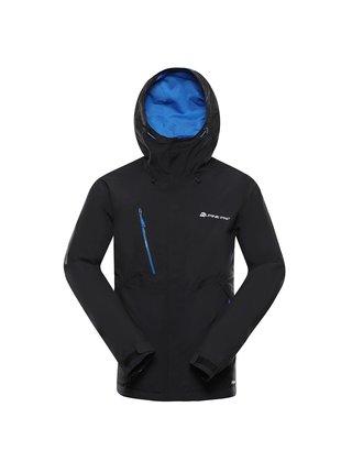 Pánská bunda s membránou ptx ALPINE PRO LANK černá