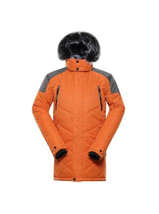 Pánská bunda s membránou ptx ALPINE PRO ICYB 7 oranžová