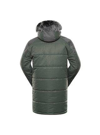 Pánská bunda s membránou ptx ALPINE PRO ICYB 7 zelená