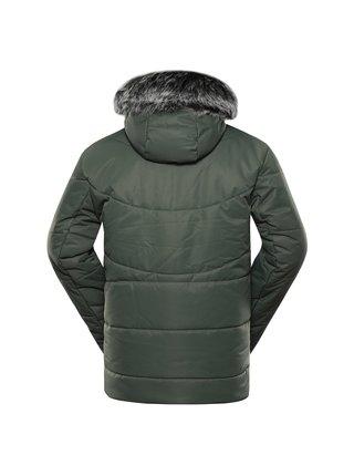 Pánská bunda s membránou ptx ALPINE PRO GABRIELL 5 zelená