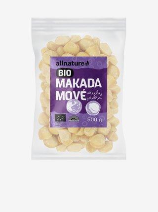 Makadamové ořechy BIO Allnature (5OO g)