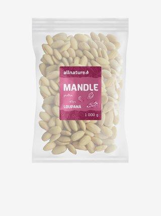 Mandle jádra natural loupané Allnature (1000 g)