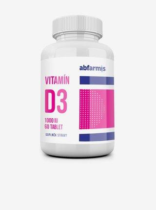 Vitamín D3 - 1000 IU ABFARMIS (60 tbl.)