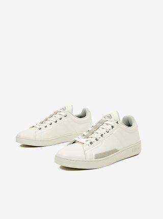 Biele pánske topánky Replay