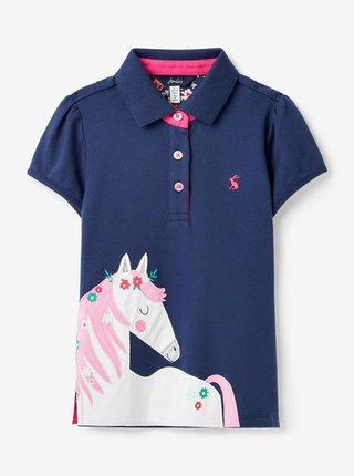 Tmavě modré holčičí polo tričko Tom Joule