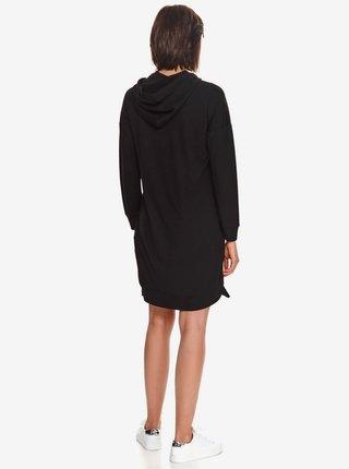 Černé dámské mikinové šaty TOP SECRET
