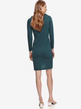 Petrolejové dámske šaty TOP SECRET
