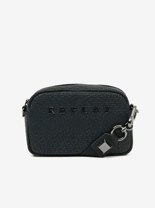 Černá crossbody kabelka Replay