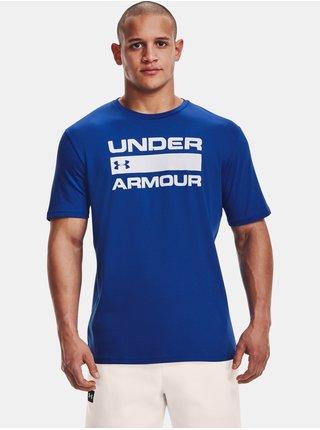 Tričko Under Armour TEAM ISSUE WORDMARK SS - modrá