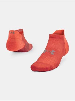 Ponožky Under Armour ArmourDry Run No Show - oranžová