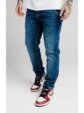 Tmavě modré pánské straight fit džíny  DENIM RECYCLED CUT STRAIGHT