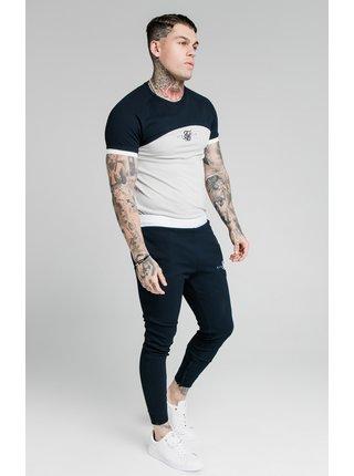 Krémovo-tmavě modré pánské tričkoTEE TECH SURFACE S/S