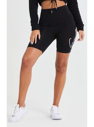 Černé dámské kraťasy SHORTS CYCLE WAIST HIGH