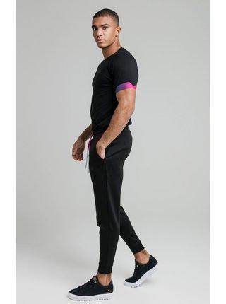 Černé pánské tričko TEE GYM RAGLAN FADE EXPOSE