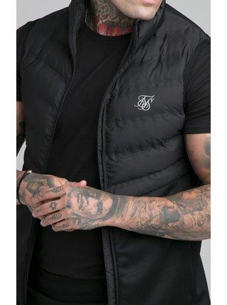 Černá pánská prošívaná vesta GILET RAID