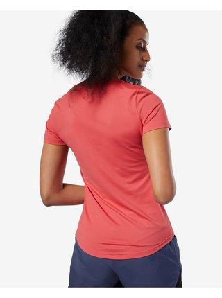 Tričká s krátkym rukávom pre ženy Reebok - červená