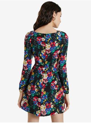 Šaty na denné nosenie pre ženy Desigual - zlatá