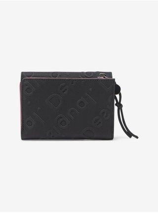 Peňaženky pre ženy Desigual - čierna