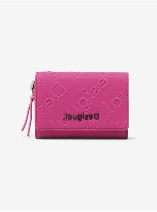 Peňaženky pre ženy Desigual - ružová