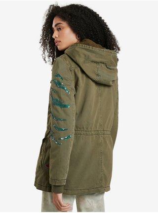 Ľahké bundy pre ženy Desigual - zelená