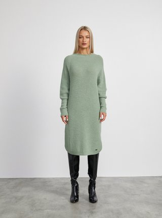Zelené svetrové šaty METROOPOLIS Vica