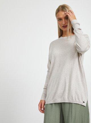 Svetlošedý dámsky sveter METROOPOLIS Darena