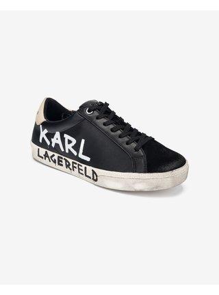 Skool Brush Logo Tenisky Karl Lagerfeld