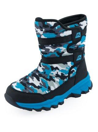 Dětské obuv zimní ALPINE PRO KAMO modrá