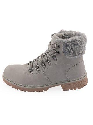Dámské obuv zimní ALPINE PRO ALORA šedá