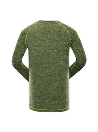 Pánské rychleschnoucí triko ALPINE PRO ELFER zelená