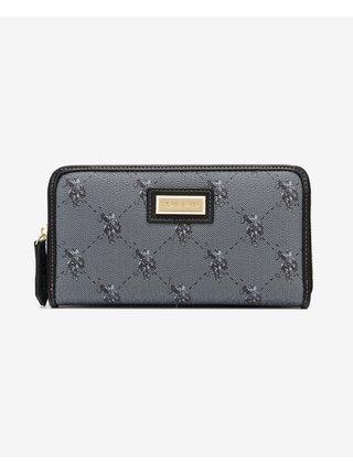 Peňaženky pre ženy U.S. Polo Assn. - čierna