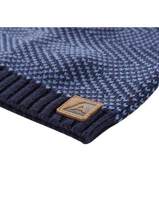 Unisex čepice ALPINE PRO HILARGE modrá