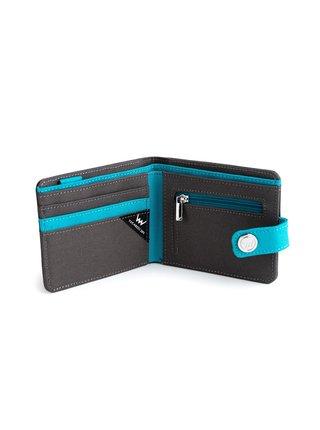 Modro-šedá pánská peněženka VUCH Oliver