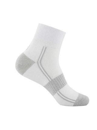 Unisex ponožky s coolmax technologií ALPINE PRO 3HARE 2 bílá