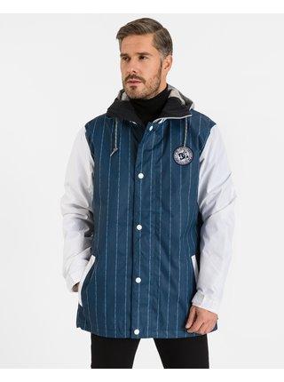 Ľahké bundy pre mužov DC - modrá, biela