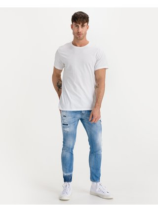 Slim fit pre mužov DSQUARED2 - modrá