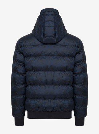 Tmavomodrá prešívaná zimná bunda Blend