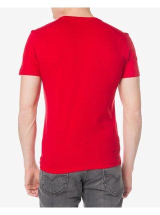Tričká s krátkym rukávom pre ženy Lacoste - červená