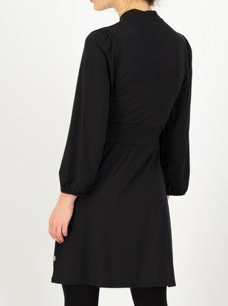 Čierne dámske šaty s balonovými rukávmi Blutsgeschwister Black beautys