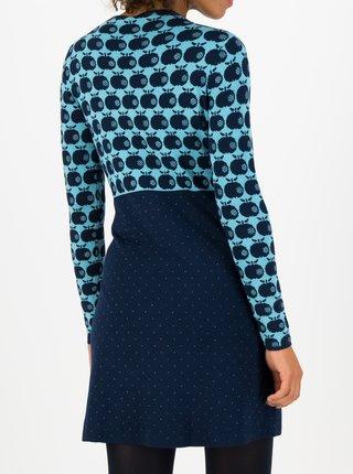 Šaty do práce pre ženy Blutsgeschwister - modrá, tmavomodrá