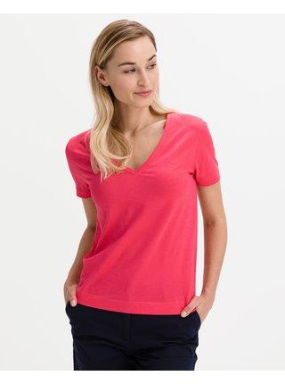 Tričká s krátkym rukávom pre ženy GANT - červená